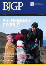 BJGP June issue