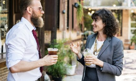 A coffee-break conversation about part-time working