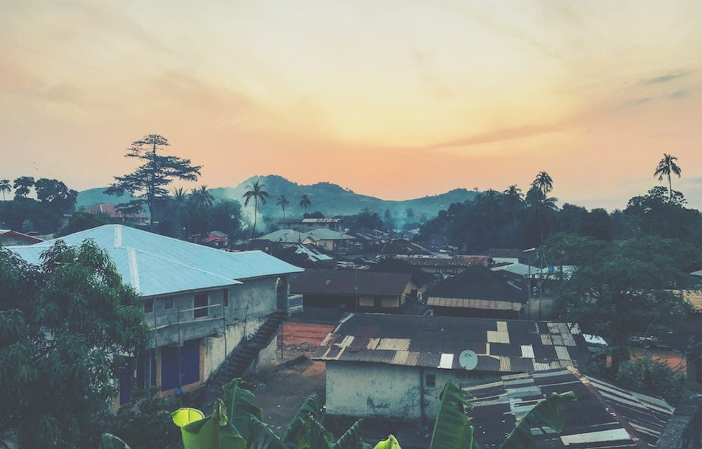 "Living in ""The Citadel"" in Sierra Leone"