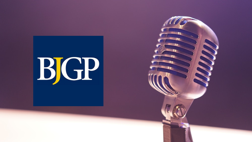 Podcast interview with BJGP Editor, Professor Roger Jones