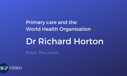 Richard Horton on primary care and the WHO