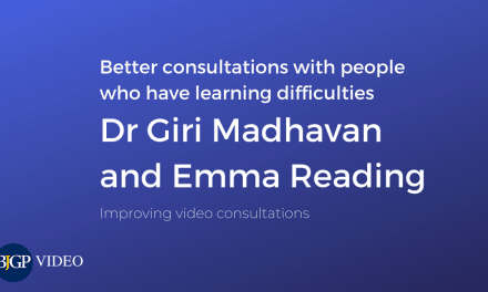 Better video consultations with people who have learning difficulties