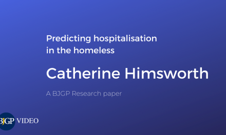Predicting hospitalisation in the homeless