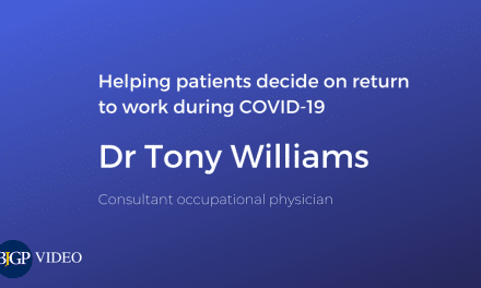 Helping patients decide on return to work during COVID-19