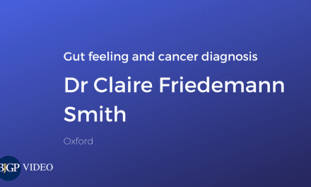 Gut feelings in GPs and cancer diagnosis