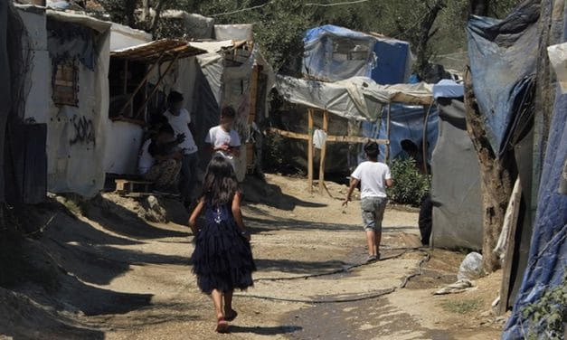 In the refugee camps of Greece