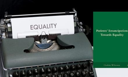 Book review: Patients' Emancipation: Towards Equality