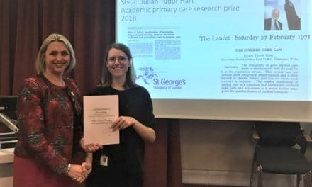 The Julian Tudor Hart general practice prize for undergraduate students at St George's University of London